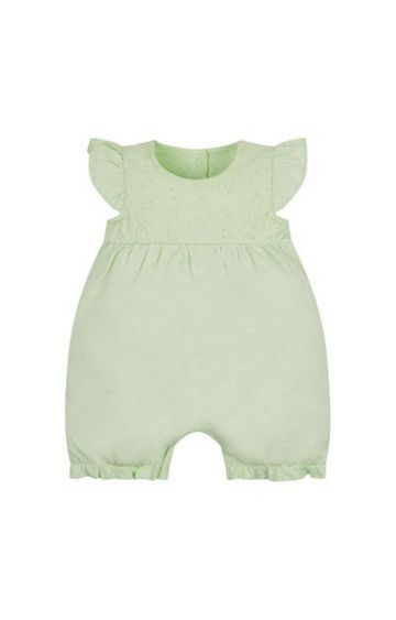 Mothercare | Green Melange Rompers