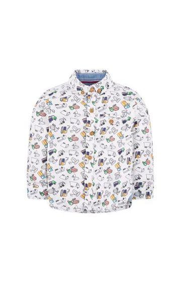 Mothercare | White Truck Shirt