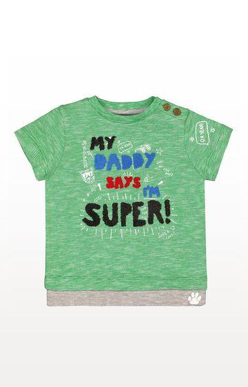 Mothercare   Green Super T-Shirt