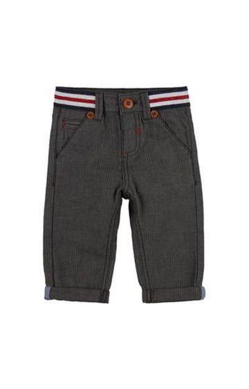 Mothercare | Grey Herringbone Chino Trousers