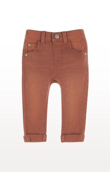 Mothercare | Rust Dyed Denim Trousers