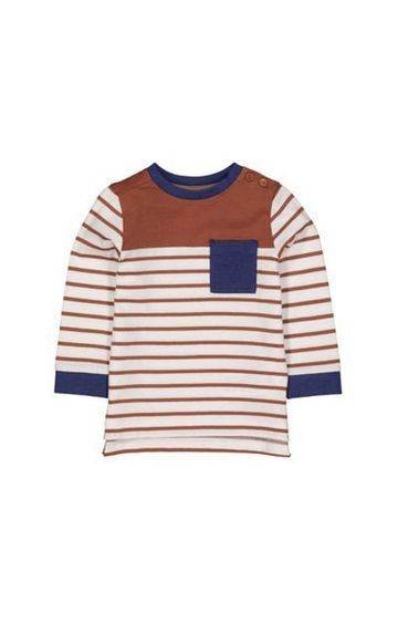 Mothercare | Rust Striped T-Shirt