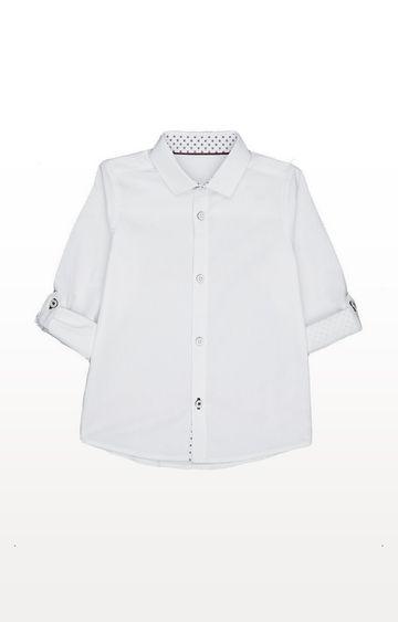 Mothercare | White Dobby Shirt