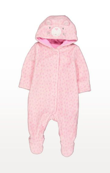 Mothercare | Pink Fluffy Cat Walk In Sleeper