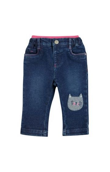Mothercare | Cat Rib Waist Jeans