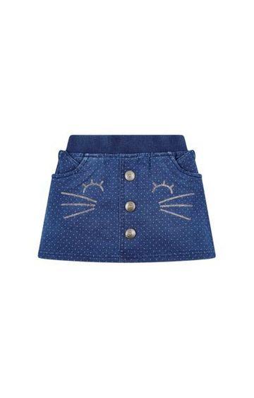Mothercare | Cat Denim Skirt