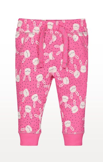 Mothercare | Pink Bunny Joggers