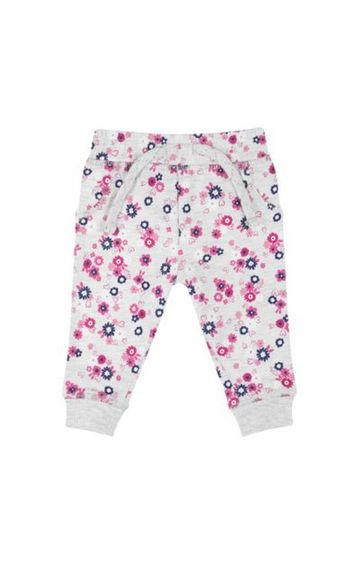 Mothercare | Grey Flower Joggers