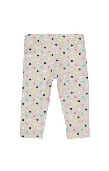 Mothercare | Grey Multicoloured Heart Leggings