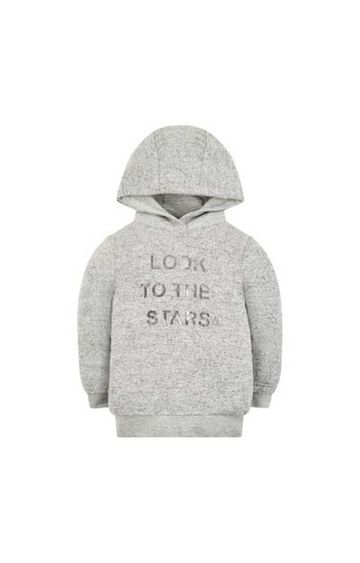 Mothercare | Grey Shoot For The Stars Hoodie