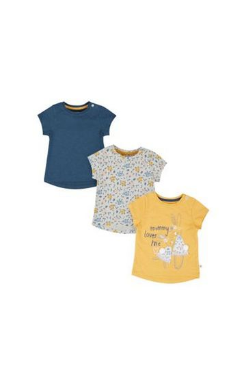Mothercare   Mummy Loves Me T-Shirts - 3 Pack