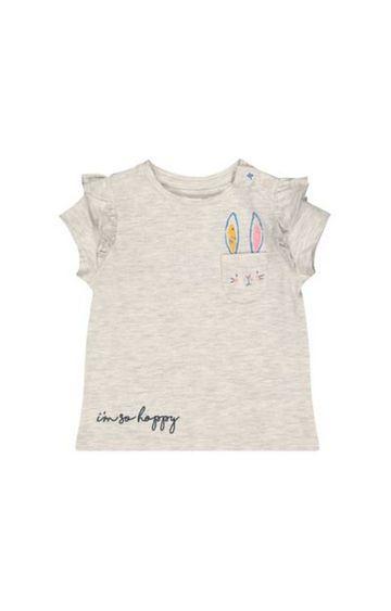 Mothercare | Grey Bunny T-Shirt