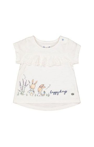 Mothercare | White Bunny Broderie T-Shirt
