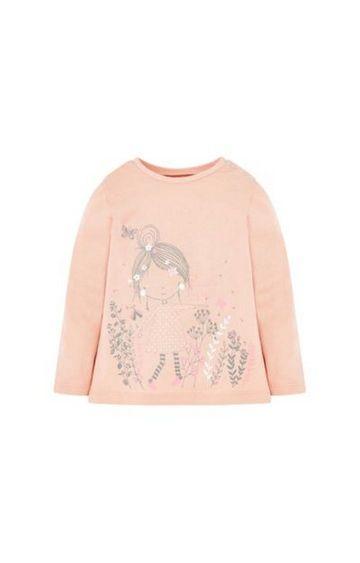Mothercare | Pink Garden T-Shirt
