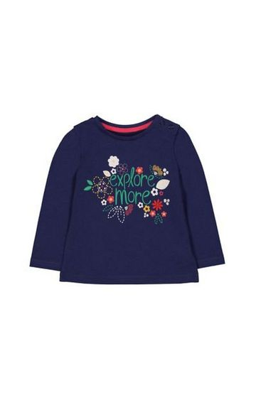 Mothercare | Navy Explore More T-Shirt