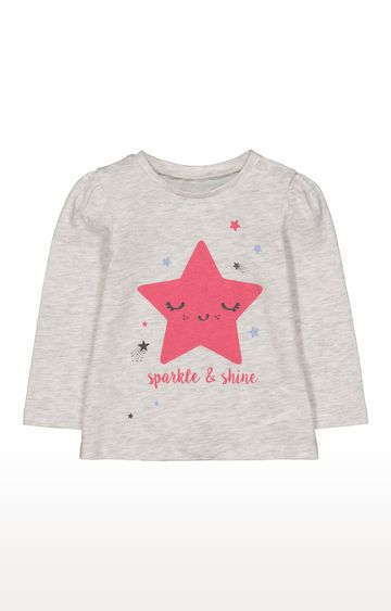 Mothercare | Star Sparkle And Shine T-Shirt
