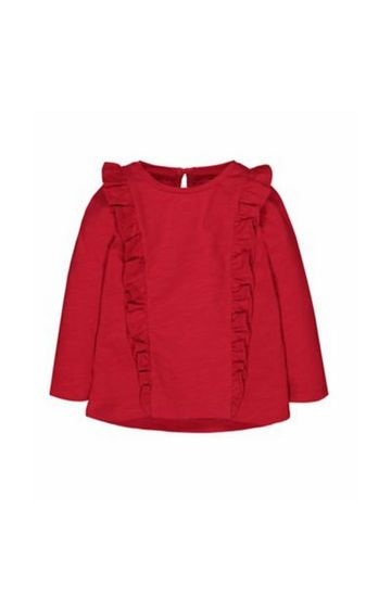 Mothercare | Red Frill T-Shirt