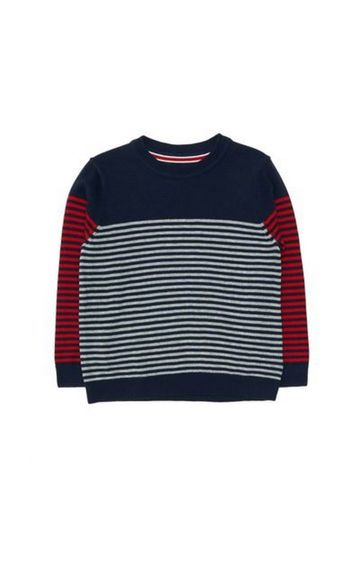 Mothercare | Navy Stripe Knitted Jumper
