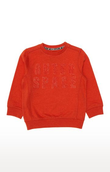 Mothercare | Orange Outer Space Sweat Top