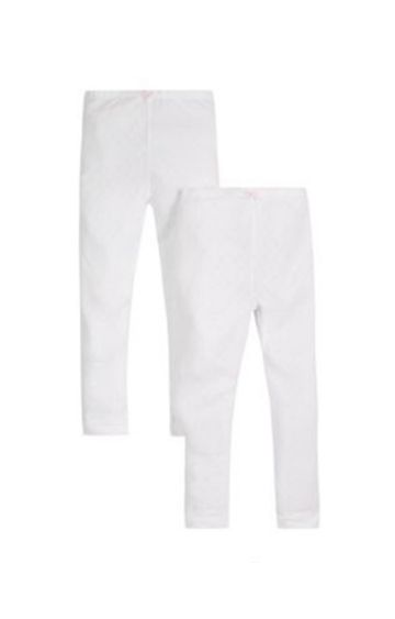 Mothercare | Pointelle Thermal Long Johns - 2 Pack