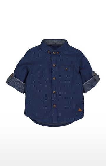 Mothercare | Navy Printed Shirt