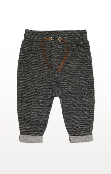 Mothercare | Grey Herringbone Trousers