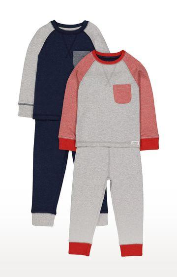 Mothercare | Heritage Raglan Pyjamas - 2 Pack