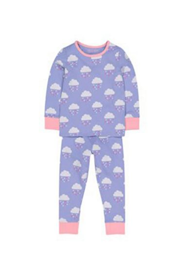 Mothercare | Heart Raincloud Pyjamas