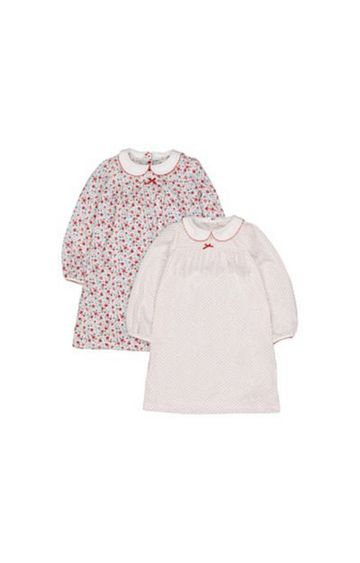 Mothercare | Floral And Spot Nighties - 2 Pack