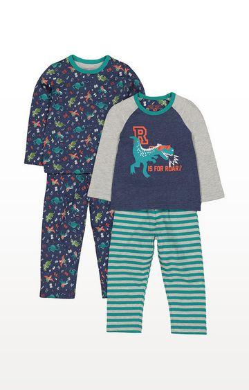 Mothercare | Dinosaur Roar Pyjamas - 2 Pack