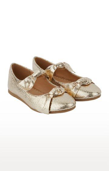 Mothercare | Gold  Ballerinas
