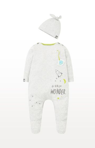 Mothercare | Space Rocket All In One With Hat