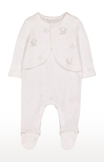 Mothercare | Elephant Mock Jacket All In One