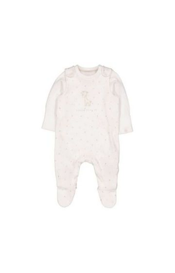 Mothercare | My First Dungarees And Bodysuit Set