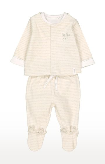 Mothercare | My First Velour 3 Piece Set