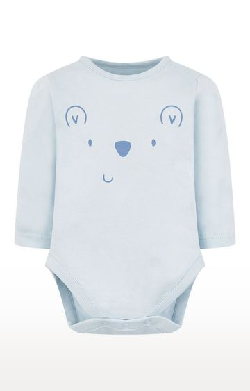 Mothercare   My First Blue Bear Bodysuit