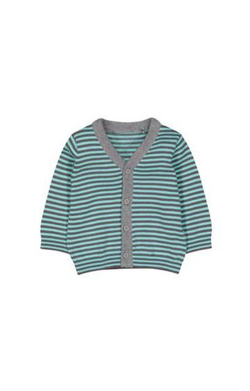 Mothercare | Blue And Grey Stripe Cardigan