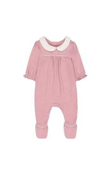 Mothercare | Pink Floral All In One