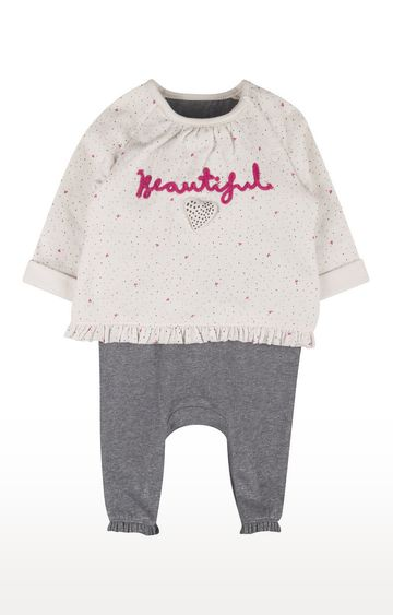 Mothercare | Mock Blouse And Leggings All In One