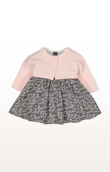 Mothercare | Ditsy Floral Cord Dress And Cardigan