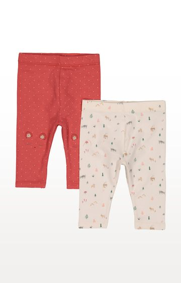 Mothercare | Spot Forest Leggings - 2 Pack
