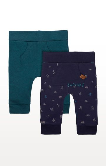 Mothercare | Stripe And Camping Joggers - 2 Pack