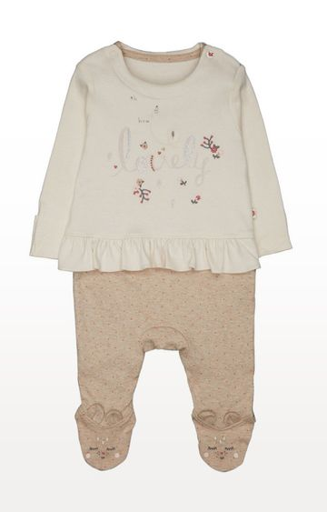 Mothercare | Mock Top and Bottom All In One
