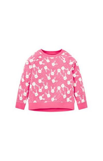 Mothercare   Pink Bunny Sweat Top