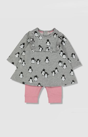 Mothercare | My K Penguin Dress And Leggings Set