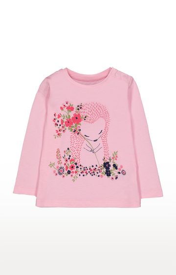Mothercare | Pink Printed T-Shirt