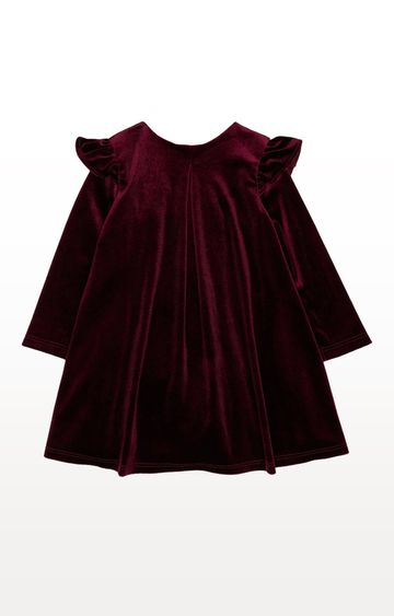 Mothercare | Burgundy Solid Dress
