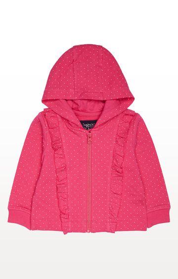 Mothercare | Pink Printed Hoodies