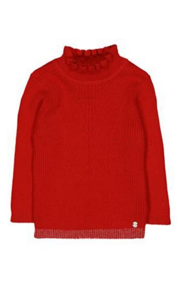 Mothercare | Heritage Red Frill Neck Top