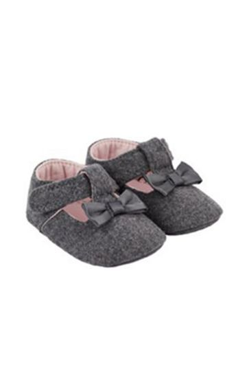 Mothercare | Grey Pram Shoes